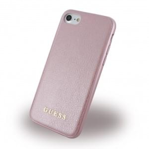 Guess IriDescent Hardcover für Apple iPhone 7 / 8 - Rose Gold