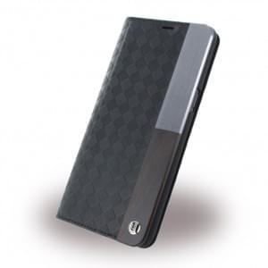 Uunique Embossed Diamond UUOOS8WC003 Book Cover für Samsung Galaxy S8 Plus - Schwarz