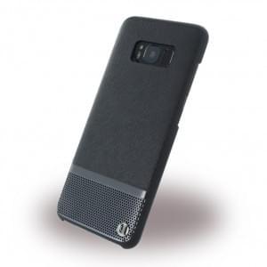 Uunique Luxe Saffiano Hardcover für Samsung Galaxy S8 - Silber