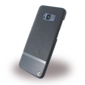 Uunique Luxe Saffiano UUS8PSLSHS01 Hardcover für Samsung Galaxy S8 Plus - Schwarz