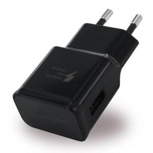 Original Samsung EP-TA20EBE USB Ladegerät / Reiseladegerät - Schwarz