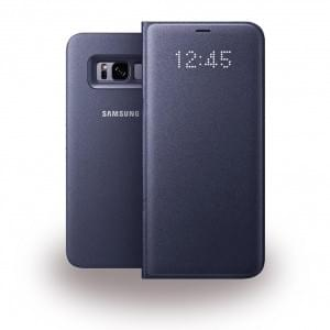 EF-NG955PV LED View Cover / Book Case für Samsung Galaxy S8 Plus - Violett