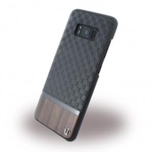 Uunique Embossed Diamond UUS8SLSHS04 Hardcover für Samsung Galaxy S8 - Schwarz