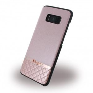 Uunique Metallic Saffiano UUS8SLSHS06 Hardcover für Samsung Galaxy S8 - Rose Gold