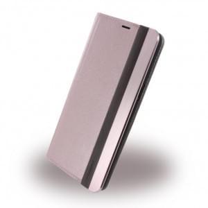 Uunique Wooden / Aluminium UUOOS8PWC01 Book Cover Samsung Galaxy S8 Plus - Pink