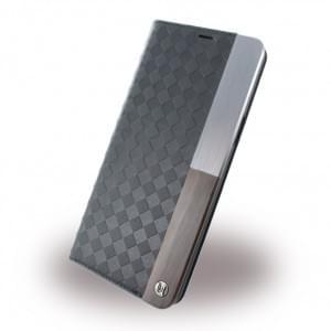 Uunique Embossed Diamond UUOOS8PWC03 Book Cover für Samsung Galaxy S8 Plus - Schwarz