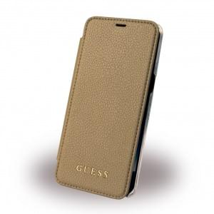 Guess - IriDescent GUFLBKS8IGLTGO - Book Cover - Samsung Galaxy S8 G950F - Gold