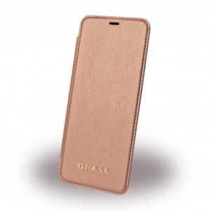 Guess - IriDescent GUFLBKS8IGLTRG - Book Cover - Samsung Galaxy S8 G950F - Rose Gold