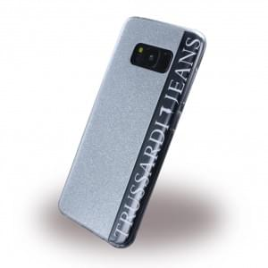 Trussardi - Glitter - Silikon Case - Samsung Galaxy S8 - G950 - Silber