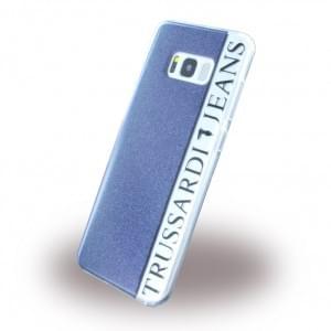 Trussardi - Black Frame - Silikon Case - Samsung Galaxy S8 G950 - Schwarz