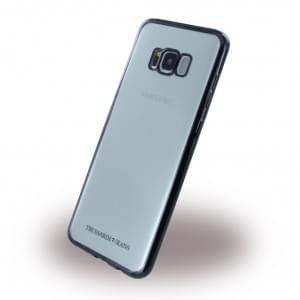 Trussardi - Black Frame - Silikon Case - Samsung Galaxy S8 Plus G955 - Schwarz