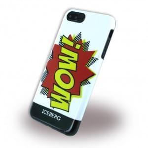 Iceberg - Wow - Silikon Hülle - Apple iPhone 8 Plus / 7 Plus - Weiss