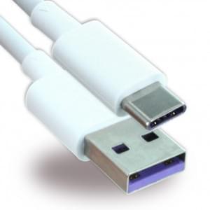 Original LG Electronics - Ladekabel / Datenkabel - USB auf USB Typ C - 1m - Weiss