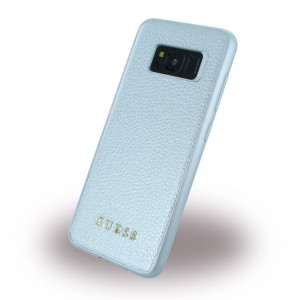 Guess - IriDescent - Hardcover für Samsung Galaxy S8 G950F - Silber