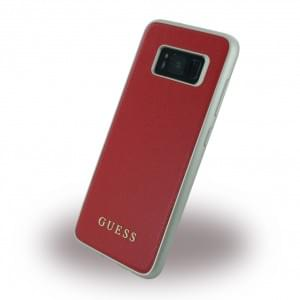 Guess IriDescent Hardcover für Samsung Galaxy S8 G950F - Scarlet Rot
