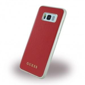 Guess - IriDescent - Hardcover für Samsung Galaxy S8 Plus G955F - Scarlet Rot