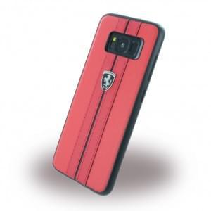 Ferrari - Kunstleder Hardcover für Samsung Galaxy S8 G950F - Rot