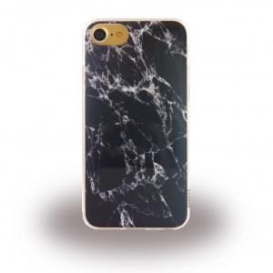 Uunique - Street Marmor - Silikon Hülle für Apple iPhone 7 / 8 - Metallic