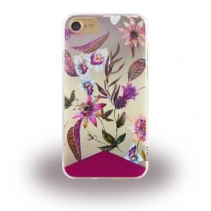 Uunique Street Spring Bloom Silikon Hülle für Apple iPhone 7 / 8 - Bunt