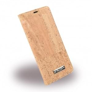 Pelcor Luca Kork Book Cover für Samsung Galaxy S8 G950F - Natur