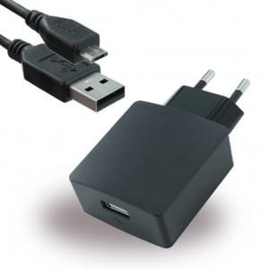 Huawei - Ladegerät + Micro USB Ladekabel - 2000mA - Schwarz