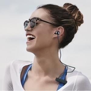 iFrogz - Impulse Wireless - Bluetooth Headset - Schwarz/ Silber