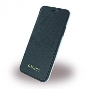 Guess IriDescent Book Cover für Apple iPhone X / Xs Schwarz