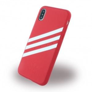 Adidas Moulded Hardcover für Apple iPhone X - Rot