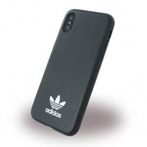 Adidas Moulded Hardcover für Apple iPhone X - Schwarz