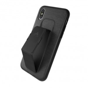 Adidas SP Grip Shockproof Hardcover für Apple iPhone  X / Xs Schwarz