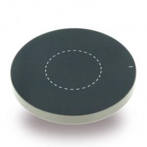 Aluminium induktive Kabelloses Wireless Ladepad / Ladegerät - Qi Standard - Gold