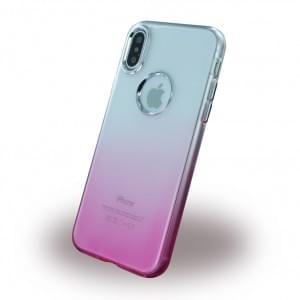 Ruber Soft - Silikon Case für Apple iPhone X - Pink
