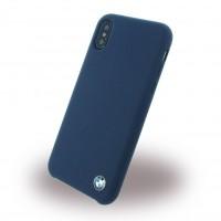 BMW - Signature - Silikon Cover - Apple iPhone X / Xs - Navy