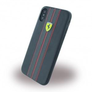 Ferrari - Urban - Hardcover für Apple iPhone X  - Schwarz