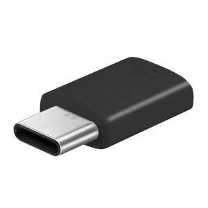 Original Samsung - Adapter - Micro USB auf USB Typ C - Schwarz