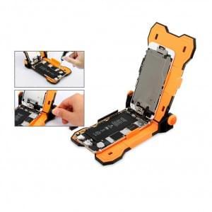 Jakemy - JM-Z13 Smartphone Reparatur Halterung - Orange / Schwarz