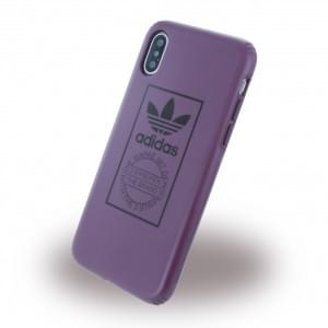 Adidas Originals Technik Handyhülle für Apple iPhone X - Maroon (Violett)