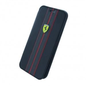 Ferrari - Urban - Book Cover für Apple iPhone X - Schwarz mit 2 Visitenkartenfächer