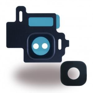 Ersatzteil - Kameralinse + Kamerafenster für Samsung Galaxy S8 G950F / Galaxy S8 Plus G955F - Orchid Grau