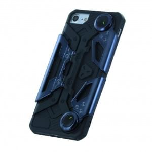 UreParts Gamer Handyhülle Silikon Cover iPhone 7 / 8 / 9 / SE 2 Schwarz