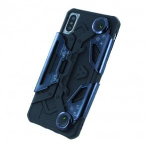 UreParts - Gamer Handyhülle - Silikon Cover für Apple iPhone X - Schwarz