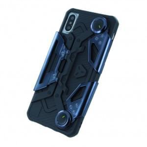 UreParts - Gamer Handyhülle - Silikon Cover für Apple iPhone X / Xs - Schwarz