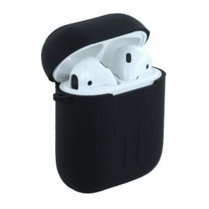 Sport - Silikon Case / Hülle für Apple AirPods - Schwarz