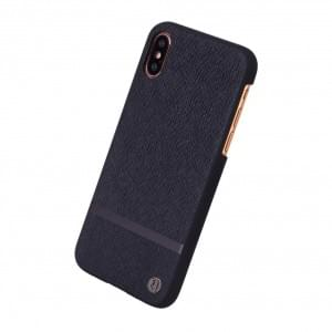 Uunique Key Line Rear Hardcover für Apple iPhone X / Xs - Schwarz