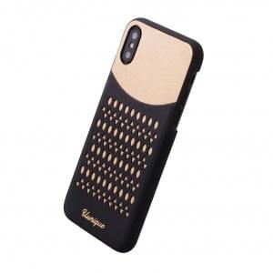 Uunique Lazer Cut Hardcover für Apple iPhone X - Gold
