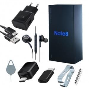 Original Samsung Zubehör Box für Galaxy Note 8 - Midnight Black