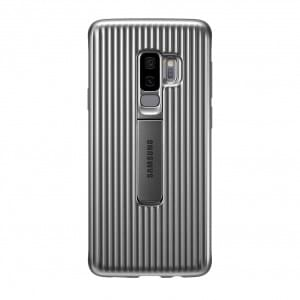 EF-RG965CS Protective Cover für Samsung Galaxy S9 Plus Silber