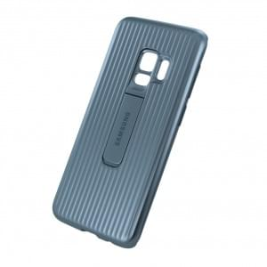 EF-RG960CS Protective Cover für Samsung Galaxy S9 - Silber