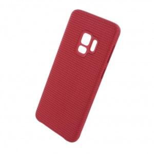 EF-GG960FR Hyperknit Hardcover für Samsung Galaxy S9 - Rot