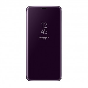 EF-ZG965CV Clear View Standing Cover Samsung Galaxy S9 Plus Violett